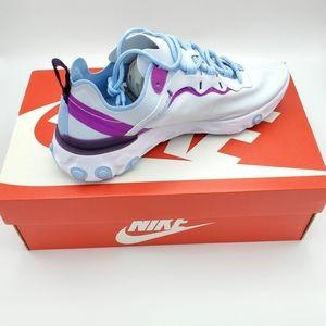 Women's Nike React Element 55 , Size 8